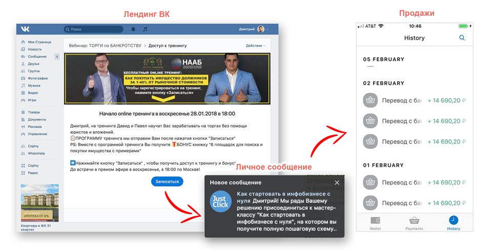 по автоворонкам и чат ботам Вконтакте (2018)...png